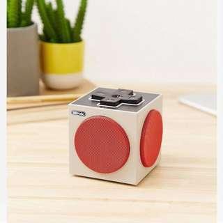 Retro cube speaker 藍芽音響