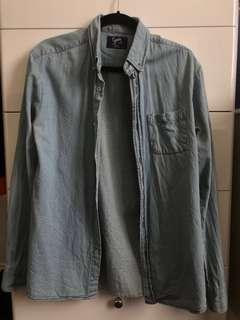 Roger David Denim Shirt Size M