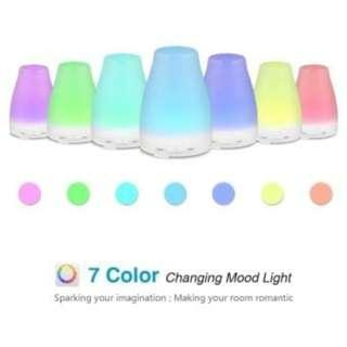 Aroma Diffuser with 7 Led light with essential oil