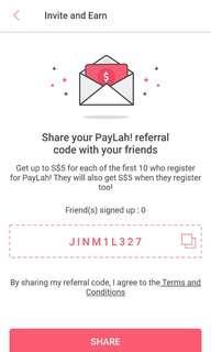 FREE $5 DBS PAYLAH