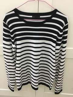 [CLEARANCE] Strip Sweater