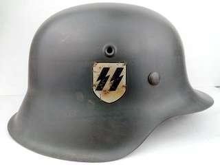 二戰德軍真品頭盔