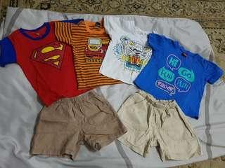 6pcs Baby Boy Set