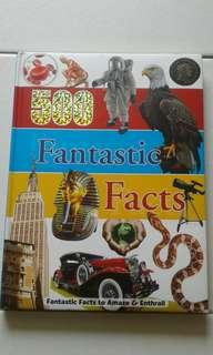NEW BOOK: 500 FANTASTIC FACTS