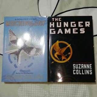 The Hunger Games by Suzanne Collins, Mocking Jay by Suzanne Collins