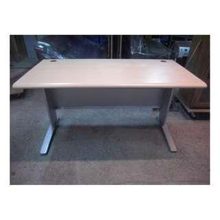 【尚典中古二手家具】中古OA辦公桌(二手辦公桌)木紋OA辦公桌