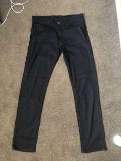 Uniqlo Black Jeans slim fit