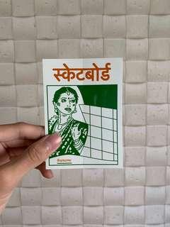 Supreme FW18 Bombay Sticker