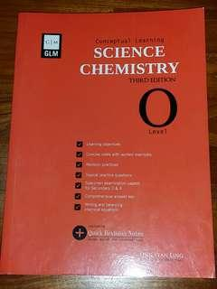 O Level Science Chemistry Conceptual Learning Assessment Book by GLM
