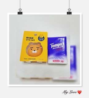 全新品 Made in Korea 可愛 Kakao friends RYAN 吸牆壁 牙刷套一個 D-70