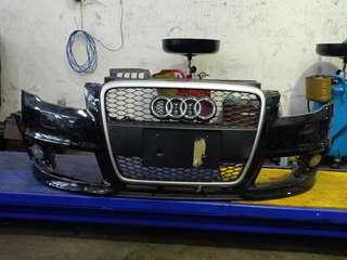 Audi rs4 year 2006-2008 front bumper