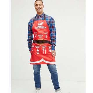 工作服 工作裙Fizz Christmas apron