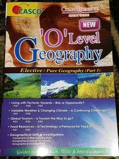 O Level Geography Elective/Pure Geography (Part 1) Comprehensive Study Guide by Casco