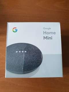 Google Home Mini Speakers Brand New Sealed