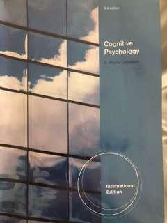 Cognitive Psychology 3rd International sedition
