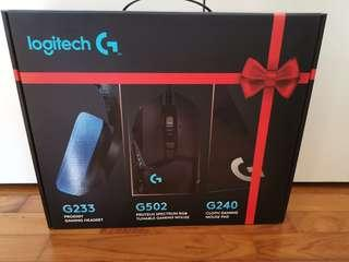 Logitech 3 in 1 gaming bundle