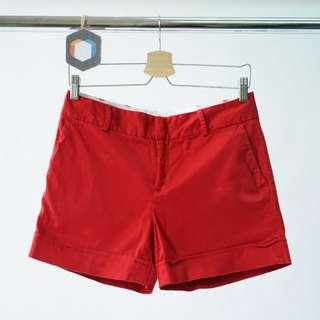 Red Short Pants Red