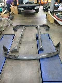 Toyota harrier mcu15 body kit