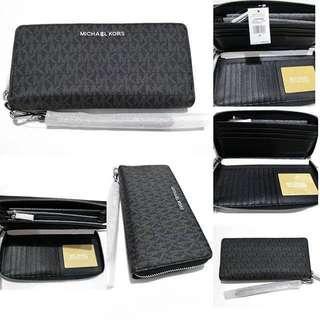 michael kors jet set travel wallet authentic