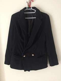 厚假西裝外套