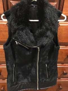 French Connection Faux Fur Vest