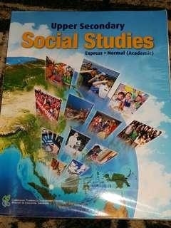Upper Secondary Social Studies Textbook for Express/Normal (Academic) students