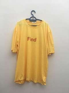 YELLOW SHIRT 'FIND'