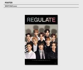 NCT 127 Regulate Poster
