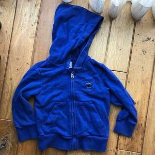 🚚 Diesel hoodie 兒童連帽夾克外套(size 3)
