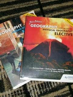 All About Geography Upper Secondary Human Geography, Physical Geography (Elective) Textbook by Hodder Education