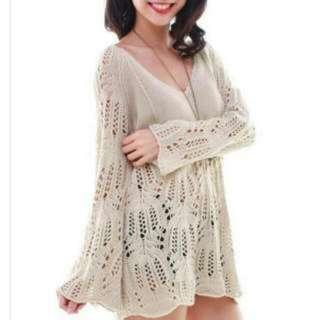 Fox Out Spellbinder Knitted Throwover