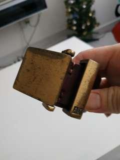 Armani Exchange Leather Belt