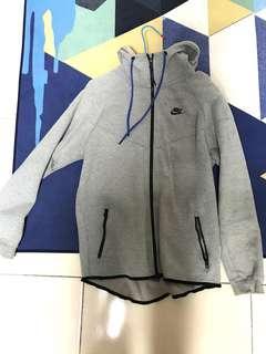 🚚 Nike tech fleece Jacket 連帽外套 藍色抽繩 Hoodie Sports