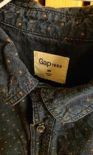 🚚 Gap 襯衫 合身款  XS 八成新