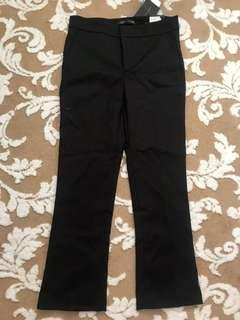 ZARA WOMAN cropped flare pants