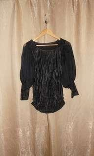 SALE Puff Sleeves Blouse