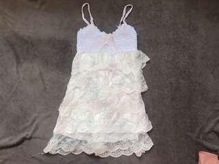 White Dress/Lingerie