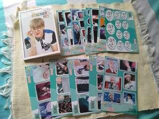 BTS Jimin Sticker Set