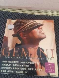 Music CD : GEMINI, Brian McKNIGHT