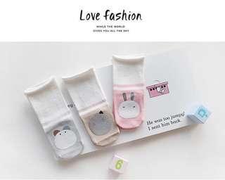 🚚 Cute prints baby socks
