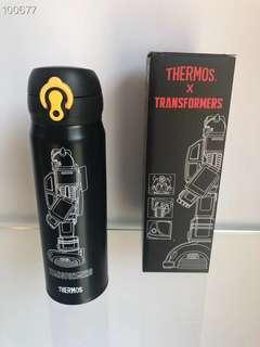 Thermos 變形金剛黑色500ml保溫瓶
