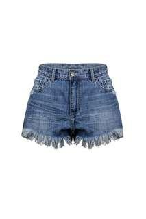 D-Luxe frayed shorts