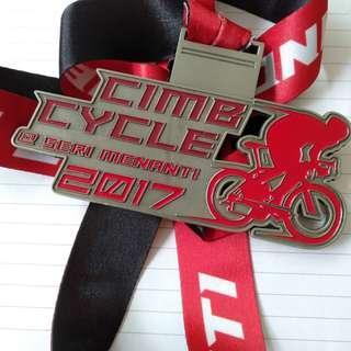 CIMB cycle medal