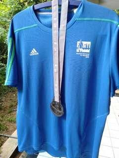 KL marathon 2015 shirt and medal