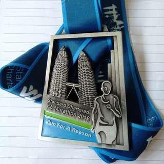 KL marathon 2016 medal