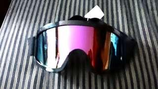 Brand New Chrome / Rainbow Goggles