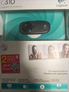 Logitec webcam C310
