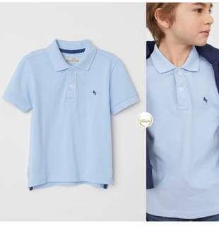 H&M polo 4-6years new tpi udah cuci