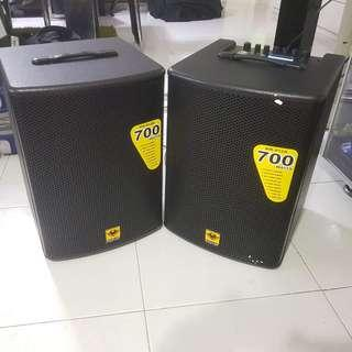 FOR RENT Speaker Amplifier with Mic