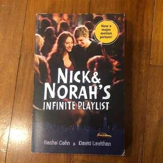 Nick and Norah's Infinite Playlist by Rachel Cohn and David Levithan